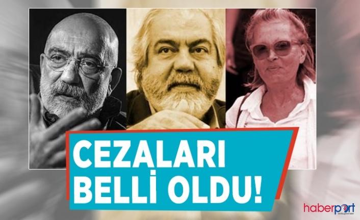 Ahmet Altan, Mehmet Altan ve Nazlı Ilıcak hakkında ki ceza ile ilgili Yargıtay kararını verdi