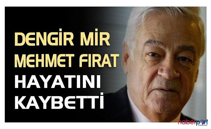 AKP kurucularından Dengir Mir Mehmet Fırat vefat etti; Dengir Mir Mehmet Fırat kimdir?