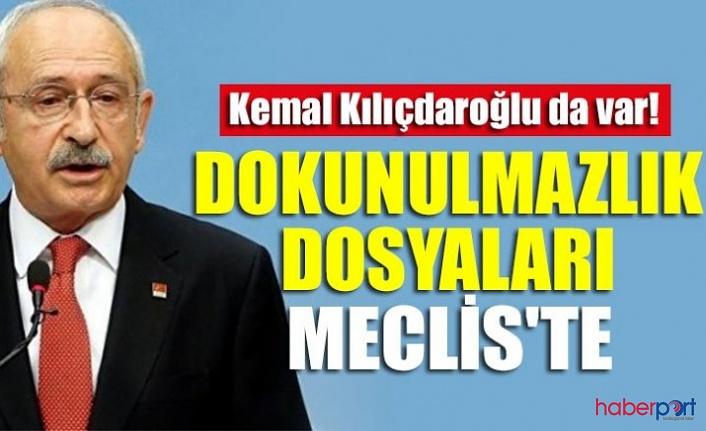 CHP Lideri Kılıçdaroğlu'da dahil 10 milletvekilinin dokunulmazlık dosyaları TBMM'ye sunuldu