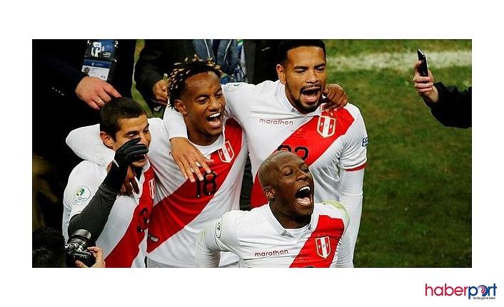 Copa America'da finale yükselen takım Peru oldu; Peru: 3 Şili: 0  maç sonucu
