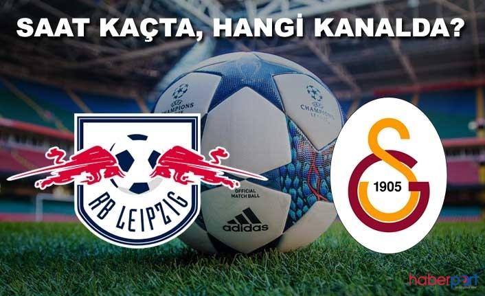 Galatasaray, Alman ekibi RB Leipzig hazırlık maçını ne zaman oynayacak? Maç hangi kanalda? Saat kaçta?