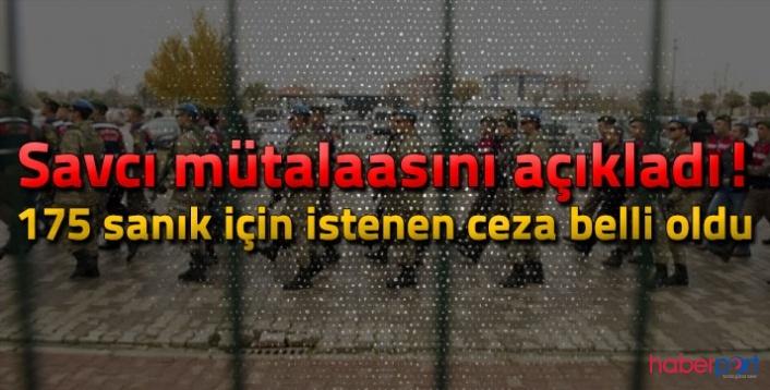 Jandarma Komutanlığı 15 Temmuz darbe davasında 175 sanığın cezaları belli oldu