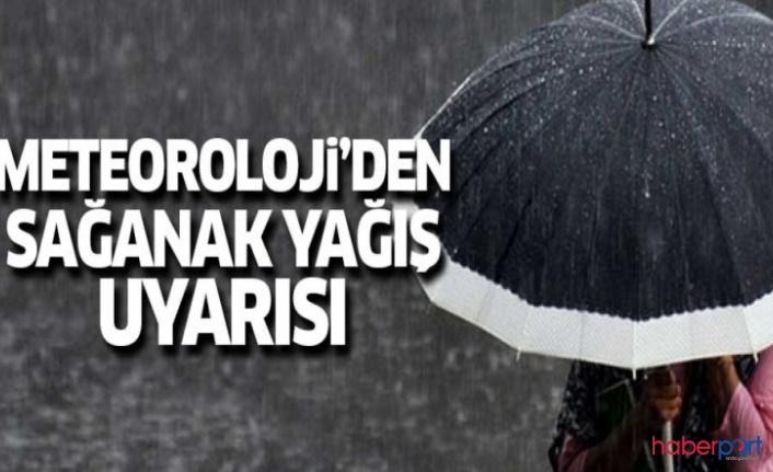 Meteoroloji'den sağanak yağış uyarısı! 10 Temmuz Çarşamba Türkiye geneli hava durumu nasıl olacak?