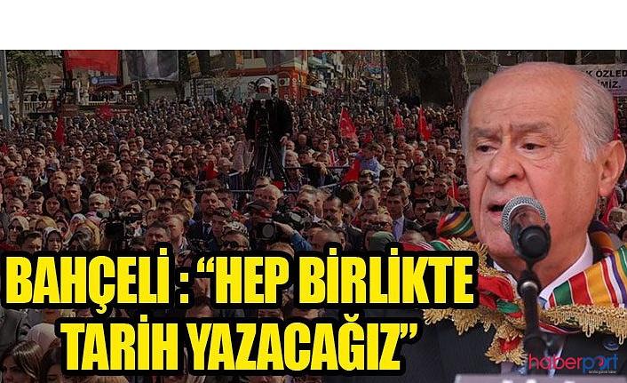 MHP Genel Başkanı Devlet Bahçeli, Bilecik'te başkanlık sistemini savundu; Bu sistem ümidimizdir!
