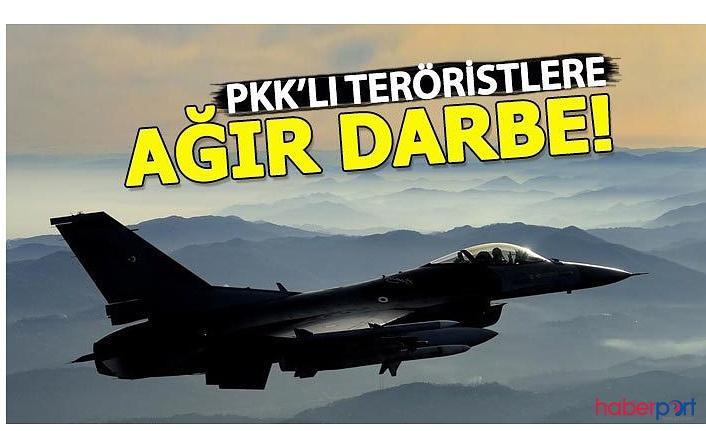 Pençe Harekatı'nda Metina bölgesine ki PKK'lı teröristlere ağır darbe