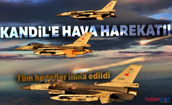 Pençe Harekâtı koordinesinde silahlı kuvvetler Kandil'i vurdu! PKK hedefleri yerle bir