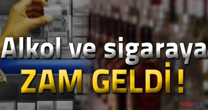 Sigara ve alkol ürünlerine ÖTV zammı! Zam sonrası sigara ve alkol fiyatları ne kadar oldu?