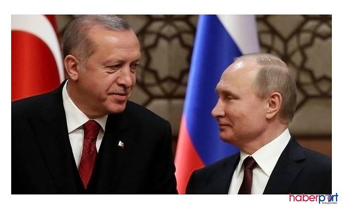 Son Dakika! Cumhurbaşkanı Erdoğan, Putin ile O Konuyu Görüştü!