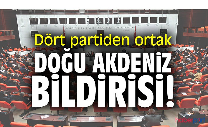 TBMM'de AK Parti, CHP, MHP ve İYİ Parti'den AB yaptırımlarına karşı ortak bildiri
