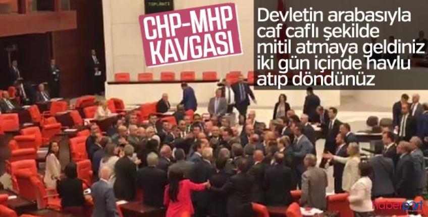TBMM'de gergin anlar! CHP Grup Başkanvekili Özgür Özel'in MHP eleştirisi meclisi karıştırdı