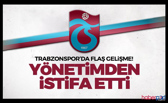 Trabzonspor Kulübünde flaş gelişme! Haluk Şahin görevlerinden istifa etti