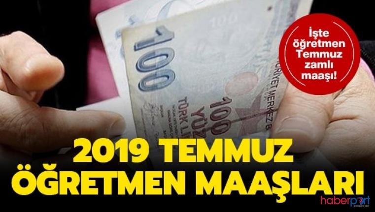 TÜİK'in açıkladığı Haziran ayı enflasyon oranlarına göre öğretmen zamlı maaşları belli oldu
