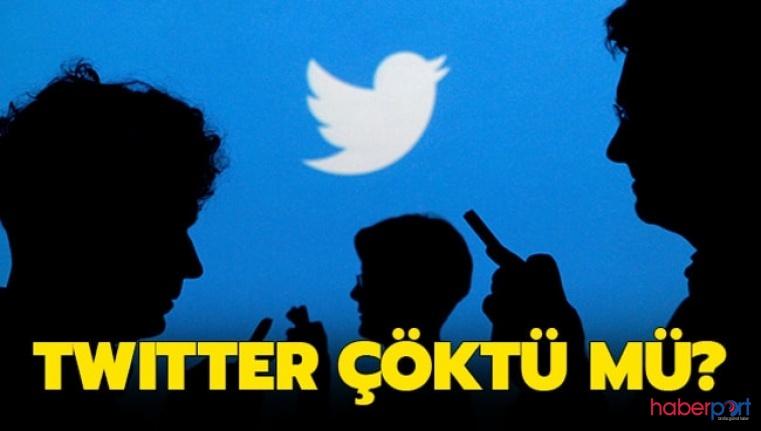 Twitter çöktü mü? Anasayfası yenilenmeyen Twitter'da erişim sorunu