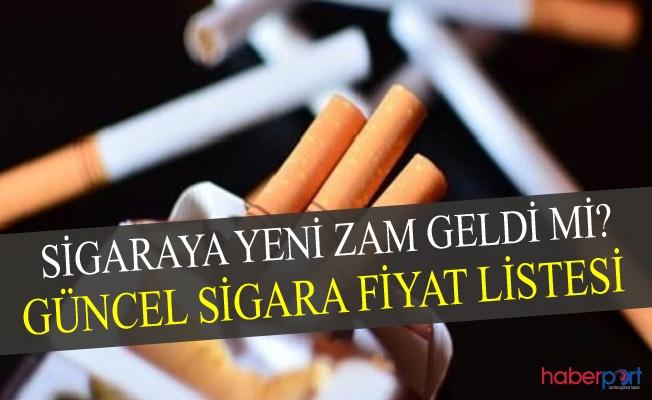 Sigaraya Yeni Zam Geldi Mi? 11 Eylül Güncel Tekel Listesi