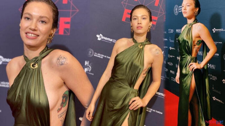 Atiye dizinde Beren Saat'in ardından Melisa Şenolsun'un sevişme sahnesi de olay oldu