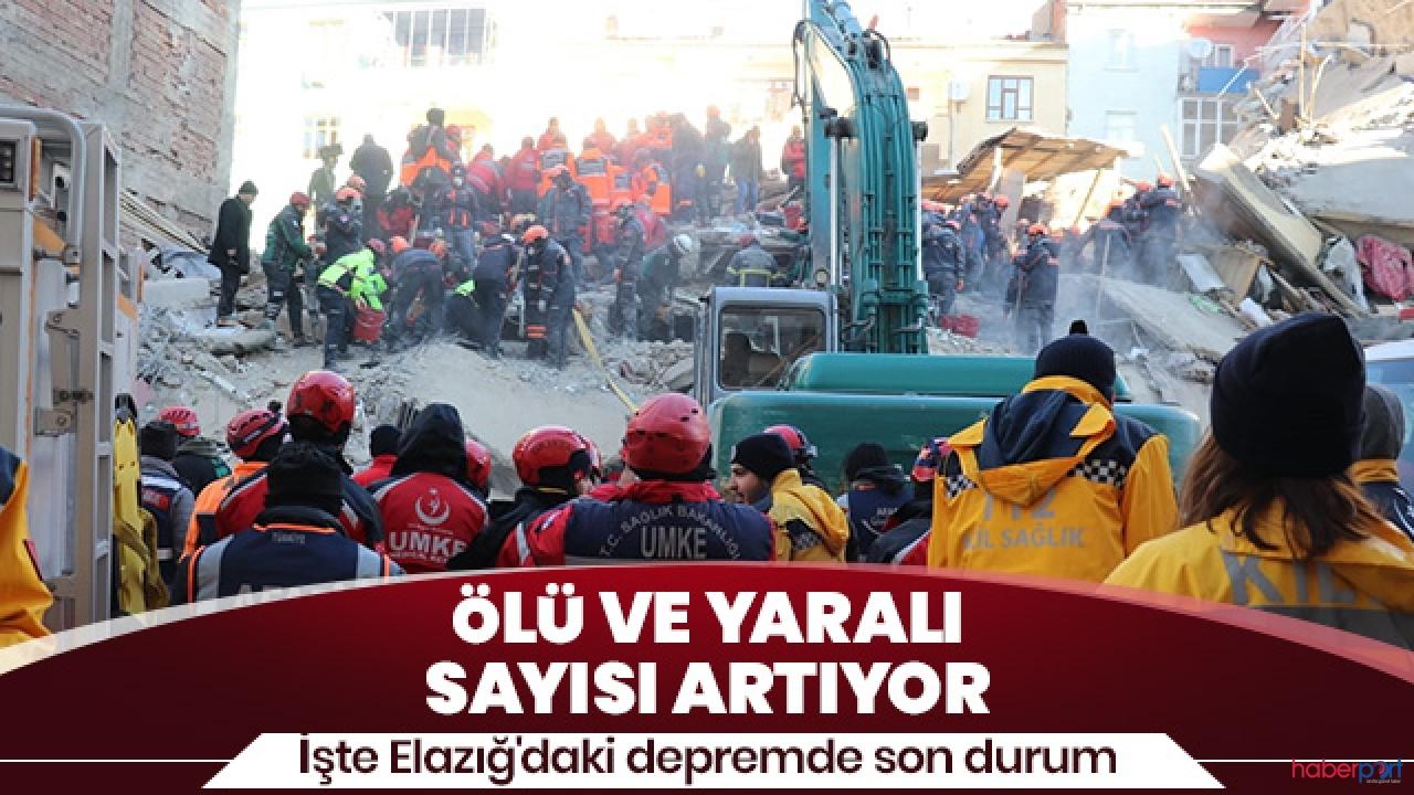 AFAD, Elazığ depreminde 31 kişinin yaşamını yitirdiğini açıkladı