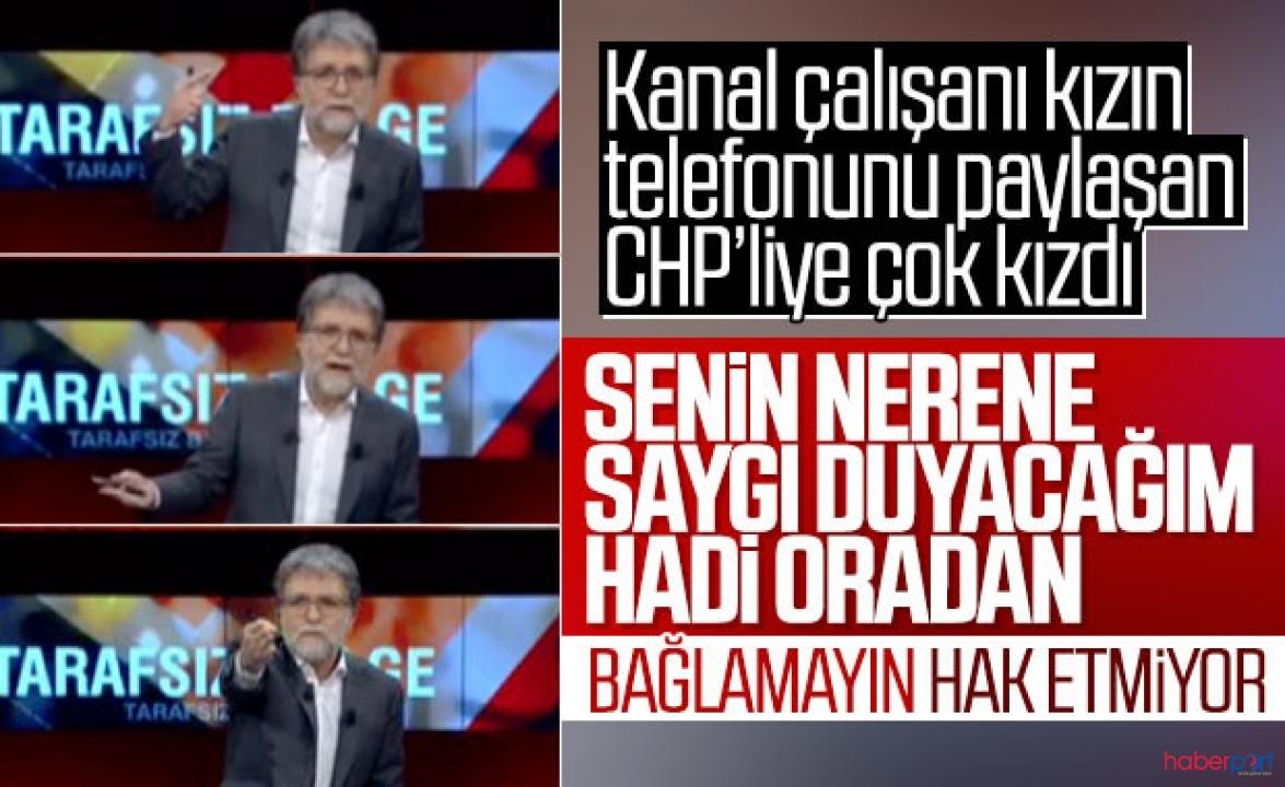 Ahmet Hakan ve CHP'li eski vekil Günaydın, canlı yayında tartıştılar