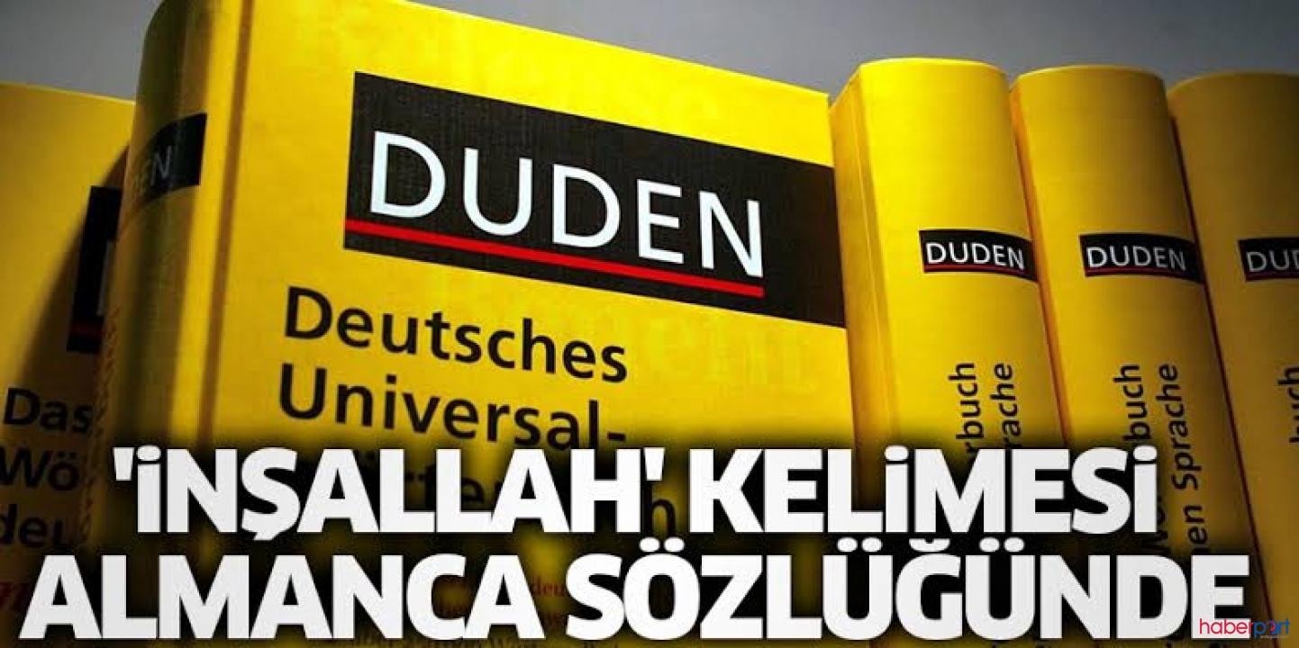 Almanya'nın en önemli sözlüğü Duden'de bir Türk kelimesi