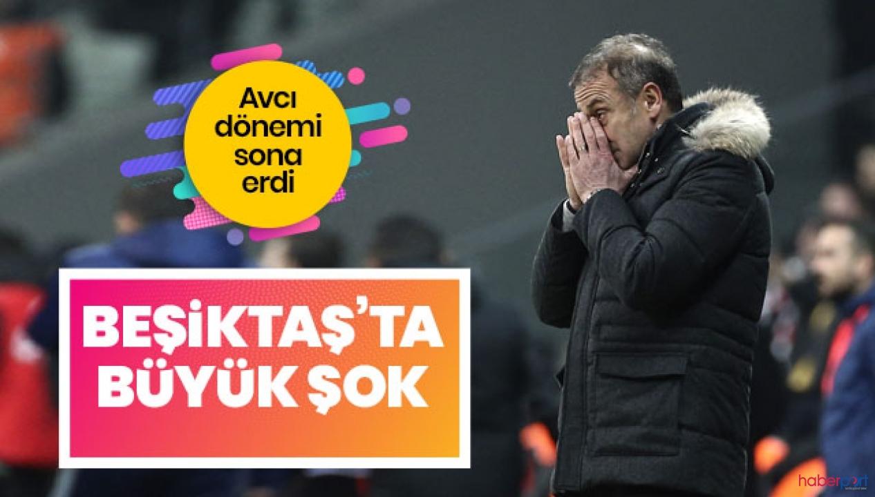 Beşiktaş'ta 286 günlük Abdullah Avcı dönemi sona erdi