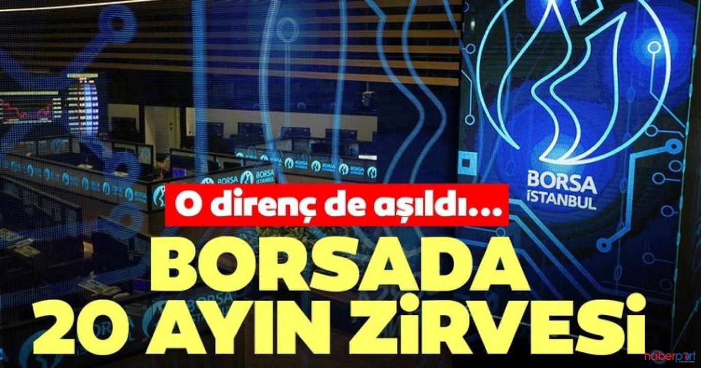 Borsa İstanbul endekste tarihi zirve seviyesini gördü