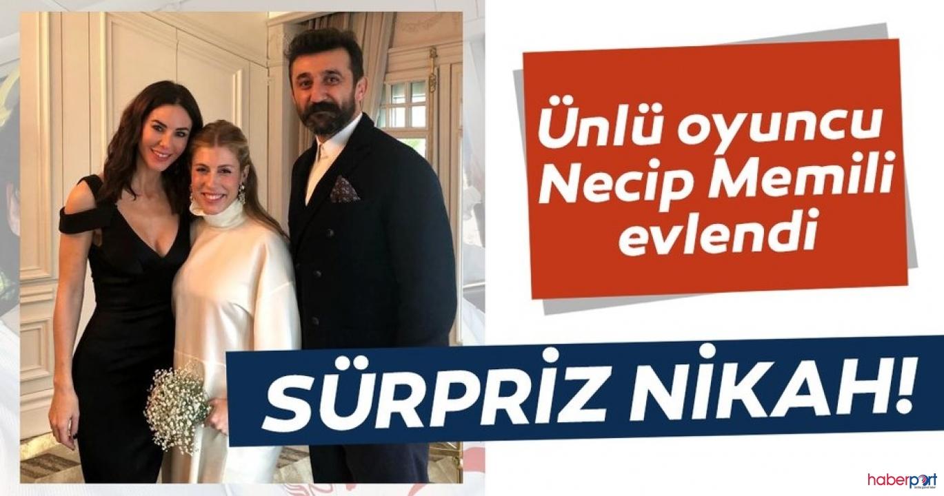 Çukur dizisinin gözü kara Cumali'sinden sürpriz nikah!