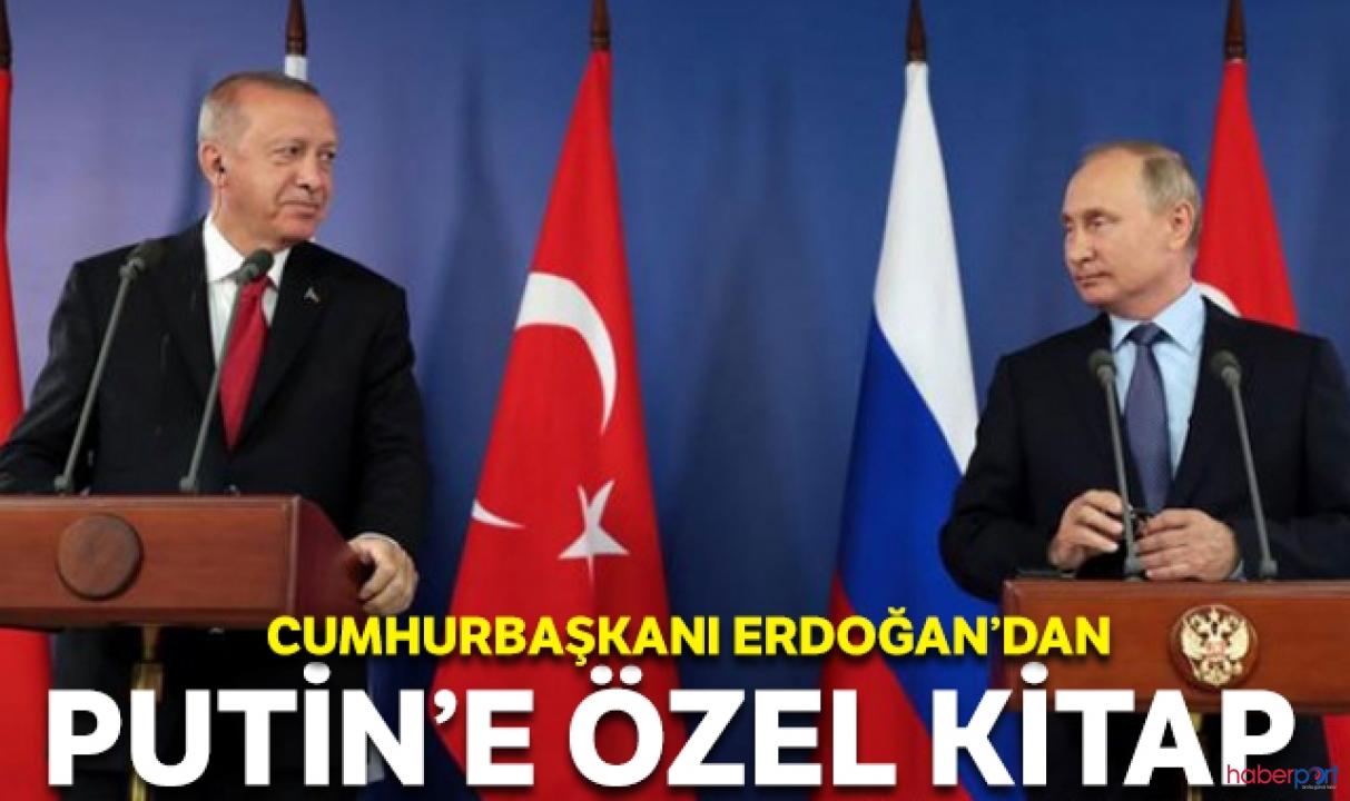 Cumhurbaşkanı Erdoğan'dan Rusya Lideri Putin'e özel basım kitap