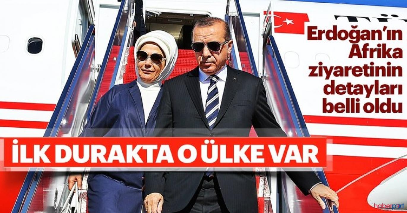 Cumhurbaşkanı Erdoğan, işbirliği önemi kapsamında 3 günlük Afrika turuna çıkıyor