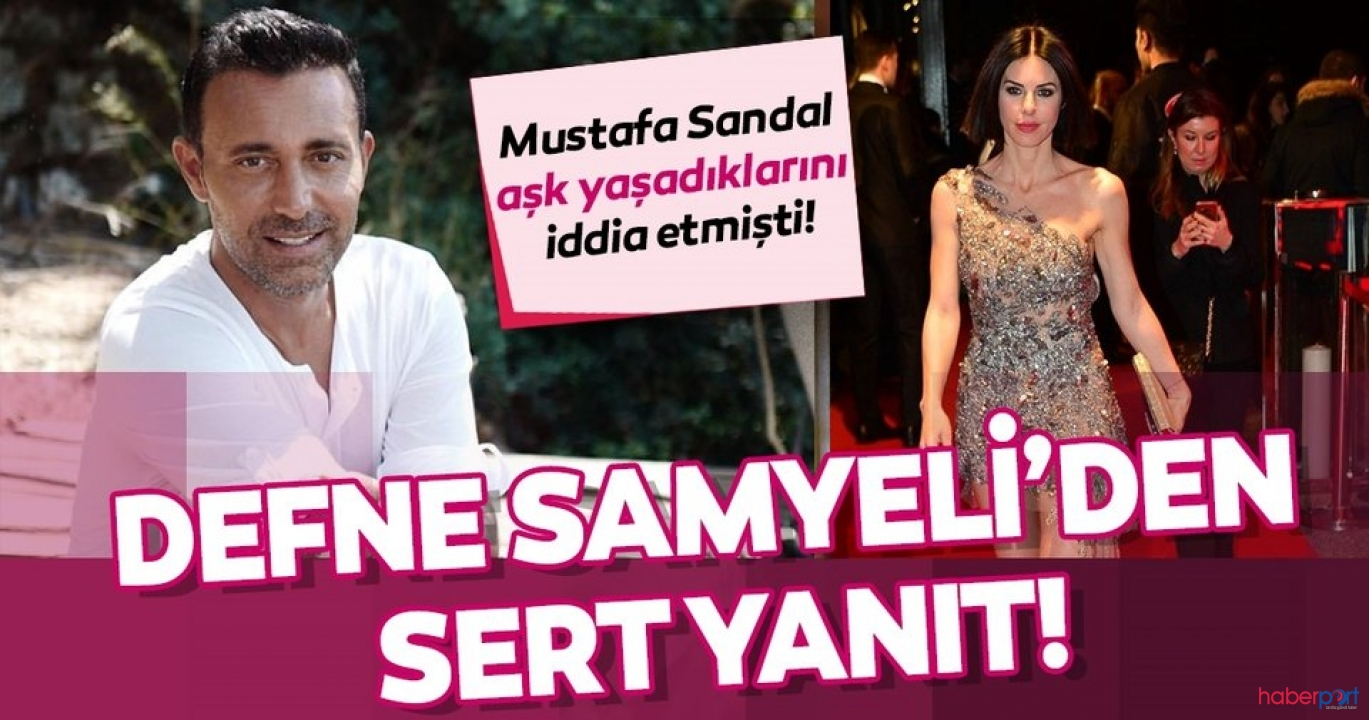Defne Samyeli ve Mustafa Sandal arasındaki dava bitmiyor