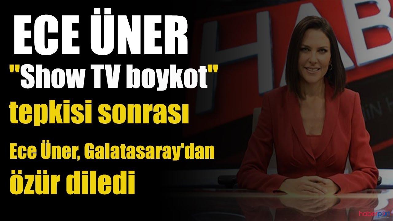 Ece Üner'den Galatasaray camiasına özür mesajı