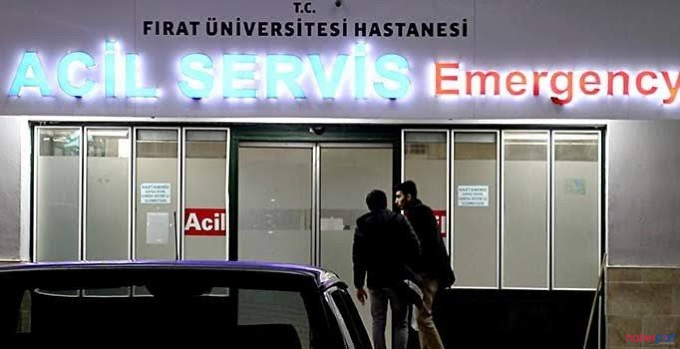 Elazığ'da 34 öğrenci sabaha karşı apar topar hastaneye kaldırıldı