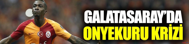 Galatasaray'da Onyekuru krizi büyüyor