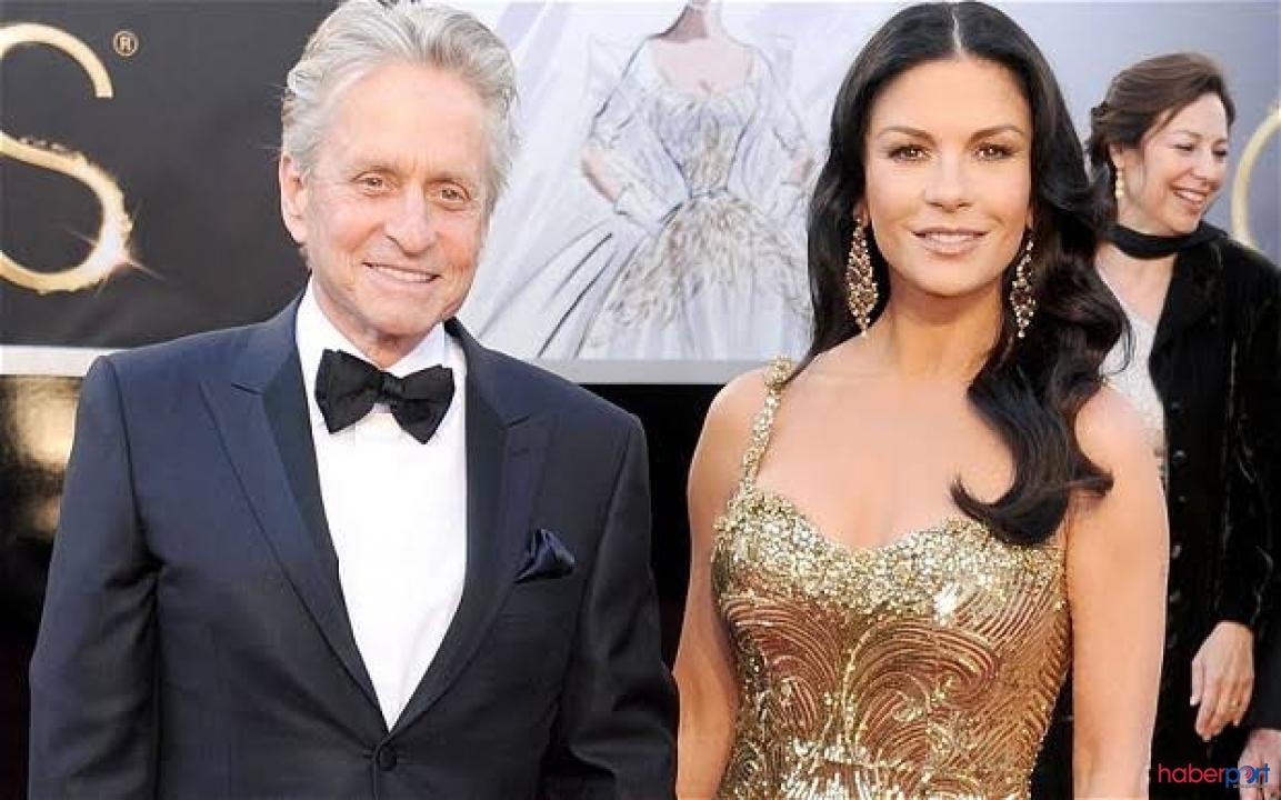 Hollywood'un ünlü ailesi Douglas çiftinden İstanbul'da aşk turu