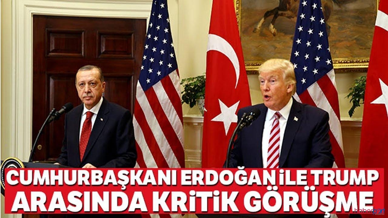 İki lider Erdoğan-Trump, telefonda iki kritik konuyu görüştü