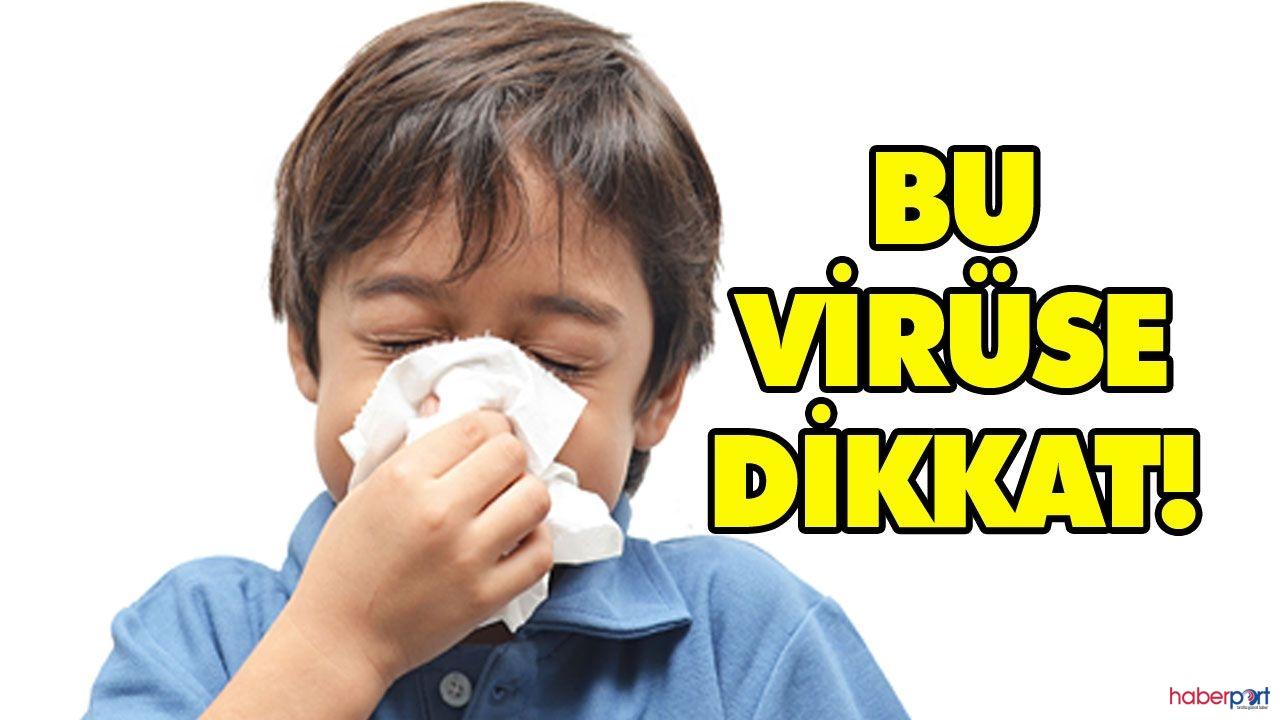 İnfluenza virüsüne dikkat! 8 saate kadar canlı kalabiliyor