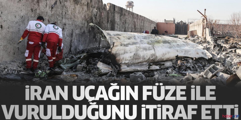 İran'dan şok açıklama! Ukrayna uçağının füze sonucu yanlışlıkla düşürdüğünü itiraf etti