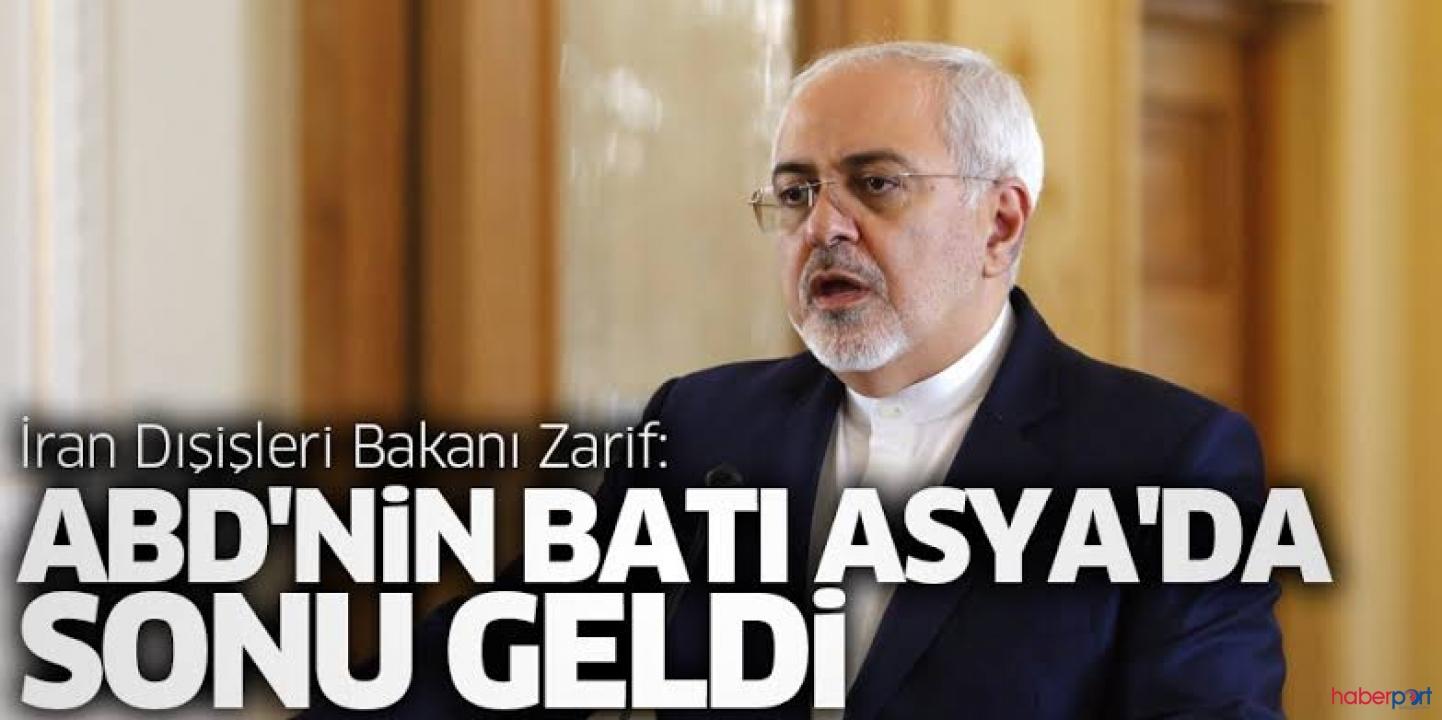 İran Dışişleri Bakanı Zarif, ABD'yi devlet terörü ilan etti