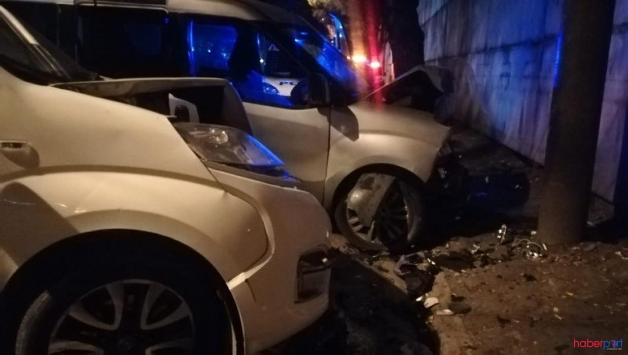 İzmir Konak'ta trafik kazası! 5 kişi ağır yaralandı