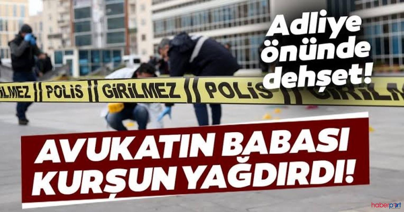Kayseri Erciyesspor'un eski mali işler yöneticisi Adliye önünde vuruldu