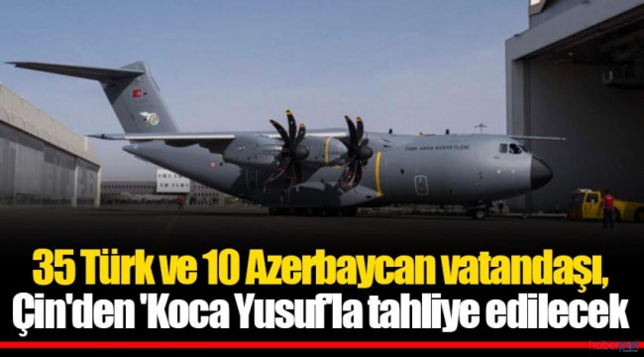Koca Yusuf Virüs salgınının merkezinden Türkleri almaya gidiyor