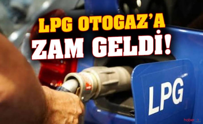 LPG Otogaz fiyatına 12 kuruş zam geldi!