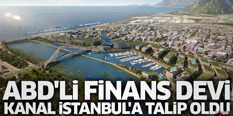 Mega proje iştah kabarttı! Kanal İstanbul'a ABD'den talip çıktı
