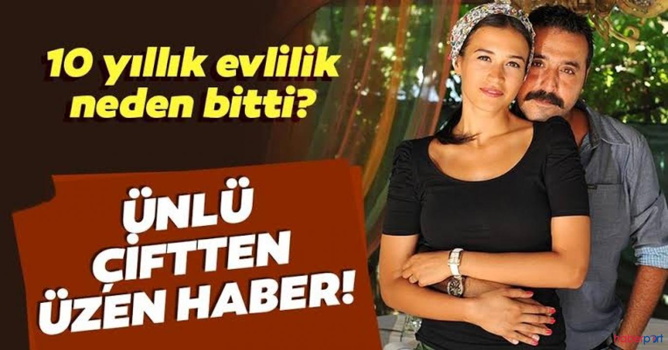 Mustafa Üstündağ ve Ecem Özkaya'nın 10 yıllık evlilikleri tek celsede bitti