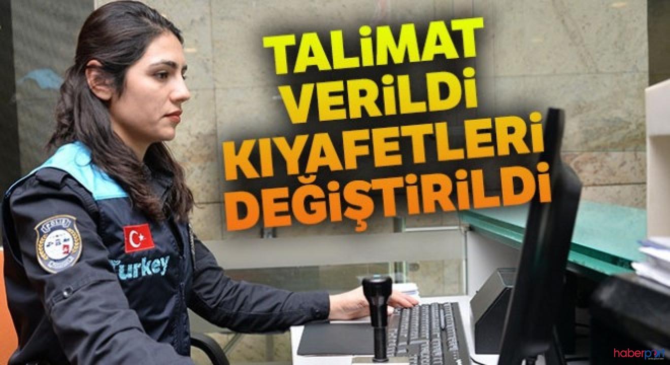 Pasaport polislerine yeni kıyafet! Üniformalarda artık Türkiye yazıyor