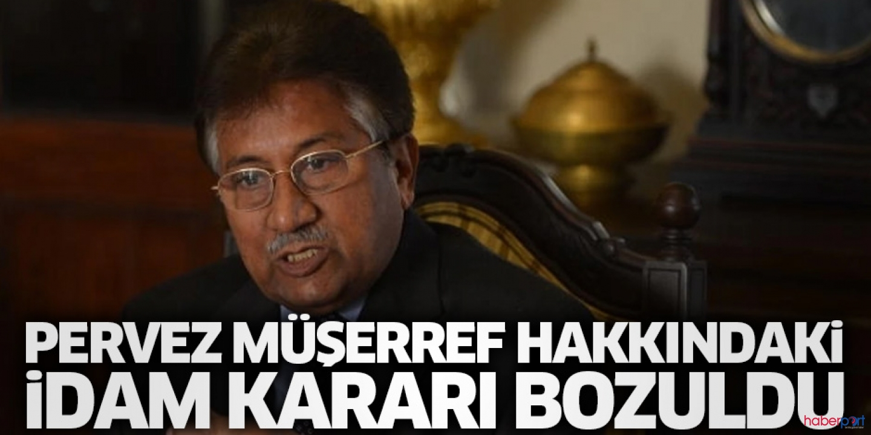 Pervez Müşerref idama mahkum edilmişti! Mahkeme, Anayasaya aykırı bularak kararı bozdu