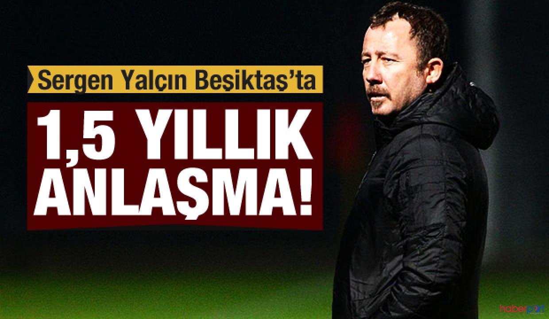 Sergen Yalçın, efsanesi olduğu Beşiktaş'a teknik direktör olarak geri döndü