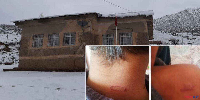 Siirt'te bir okulda skandal! 3 öğrenciye sıcak soba maşasıyla şiddet