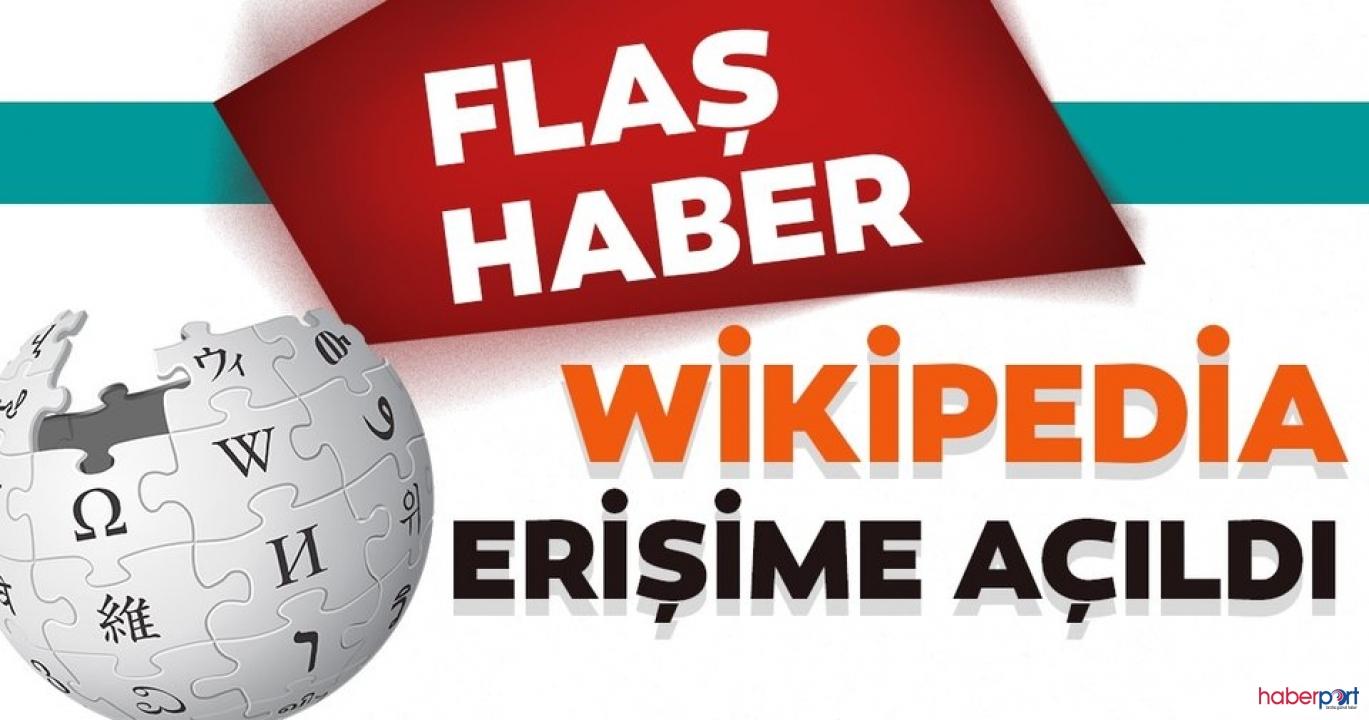 Wikipedia 2.5 yıl sonra yeniden erişime açıldı