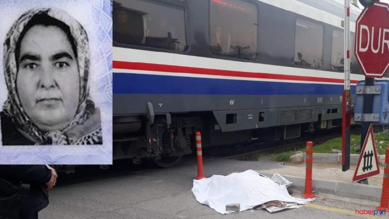 Yolcu treni kadına çarptı, Mersin'de korkunç ölüm!