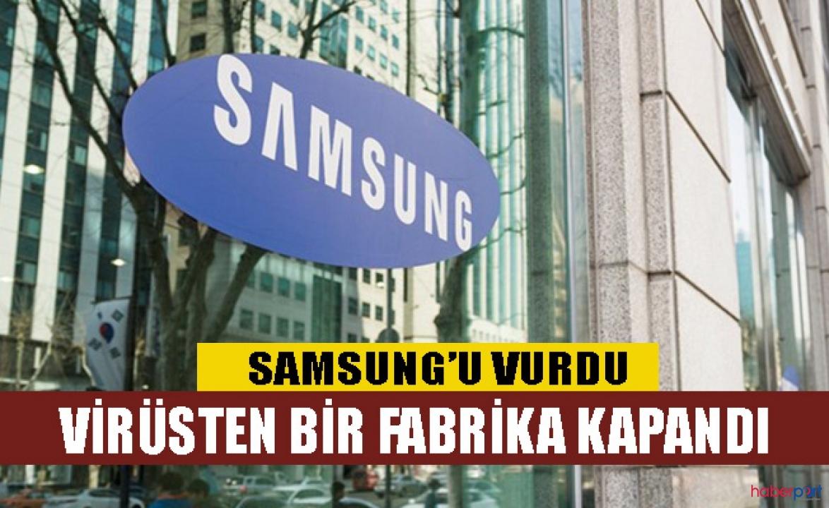 1 işçisinde virüs tespit edilen Samsung, Güney Kore'deki fabrikasını kapattı
