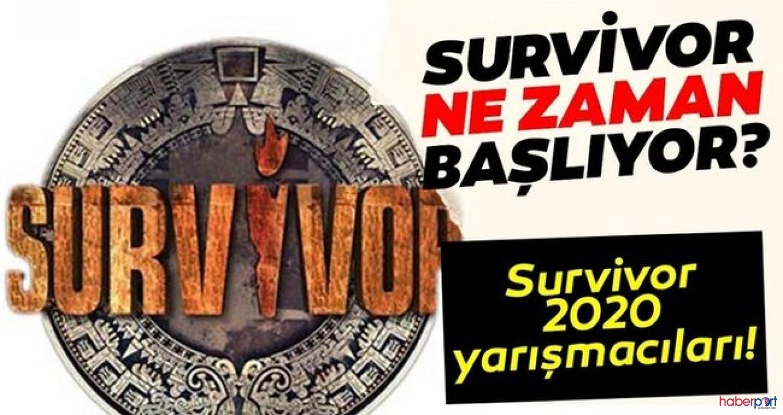 2020 Survivor yarışmasında ünlüler ve gönüllüler kadrosu belirlendi